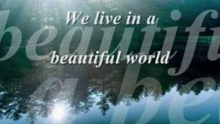 Coldplay Don T Panic Beautiful World Lyrics