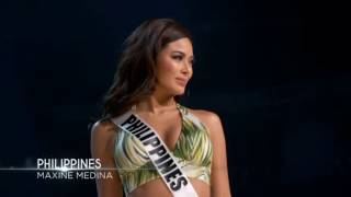 Maxine Medina - 65th Miss Universe Preliminary Competition (Introduction, Swimsuit, and Long Gown)