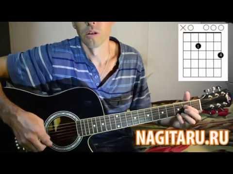 Как сыграть простую мелодию на гитаре