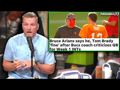 After watching film Mike Evans was actually wrong - Bruce Arians per the Pat McAfee Show.
