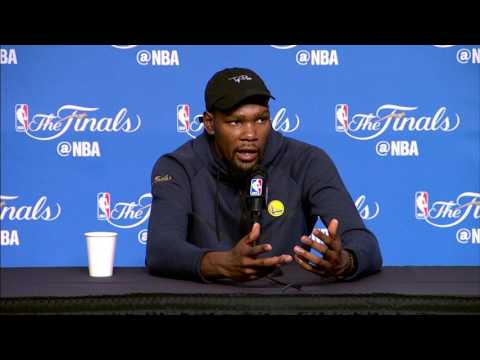 Kevin Durant FULL Interview Before Game 4 | Media Day Availability