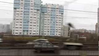 Перегон метро Автозаводская - Коломенская, Москва. // 15 ноября 2012