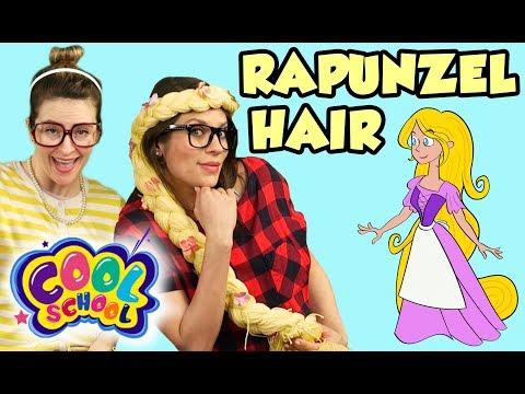 Rapunzel Hair DIY Braid! | Arts and Crafts with Crafty Carol
