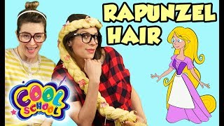 Rapunzel Hair DIY Braid! | Arts and Crafts with Crafty Carol