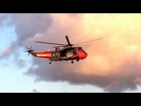 Royal Navy Westland Sea King at St. Ives - part 1