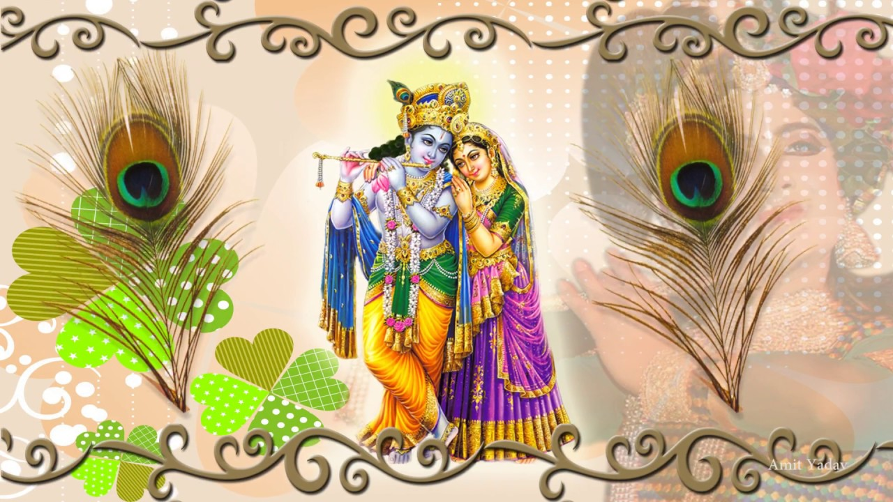 Lord Shri Krishna Radha Ji Soft Motion Graphic Video Vfx Hd 1080p
