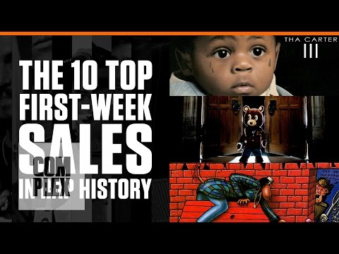 The 10 Best First Week Sales In Hip-Hop History | Complex