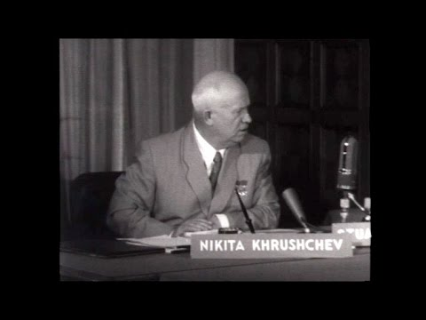 Nikita Khrushchev On Face The Nation In 1957