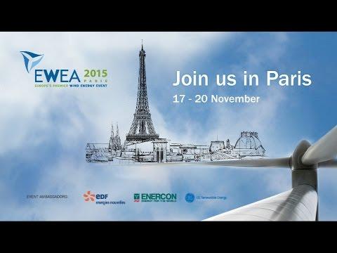 EWEA 2015: Join us in Paris
