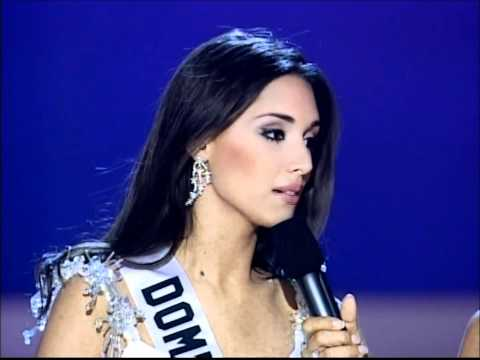 Amelia Vega ( Dominican Republic ), Miss Universe 2003 - Personal Interviw & Close Up