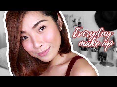 Updated! Everyday Make Up Routine 2018 | heyyjanine
