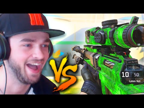 SNIPERS vs RUNNERS! (Black Ops 3 - Custom Mini Game!) w/ Ali-A