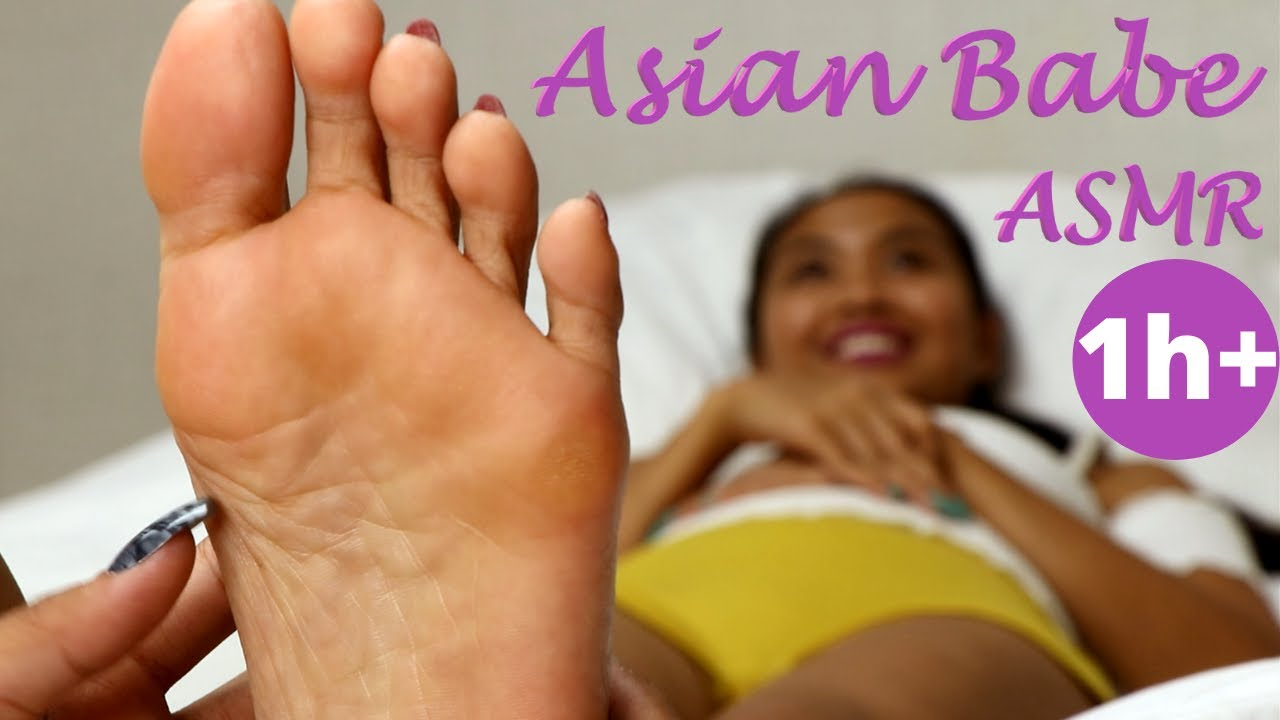 Download Asian Babe ASMR FINALLY gets Feet Tickled Massage Challenge! (Special Celebration for my 10K Subs!)