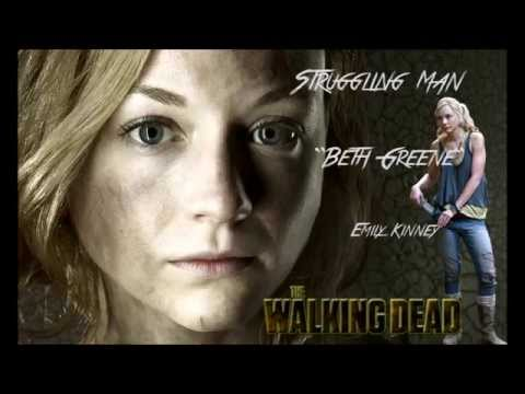 The Walking Dead Struggling Man Beth Greene Emily Kinney Full Versi
