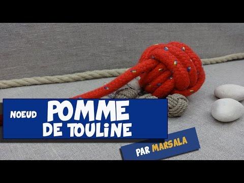 Noeud Pomme de touline ( poing de singe, monkey fist ) #Noeud de Lestage