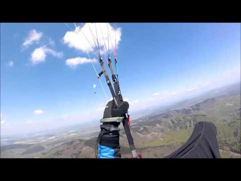 PARAGLIDING MURO--LOPENIK-HRABOVKA-32KM-30.4.2016-OZONE BUZZ Z4