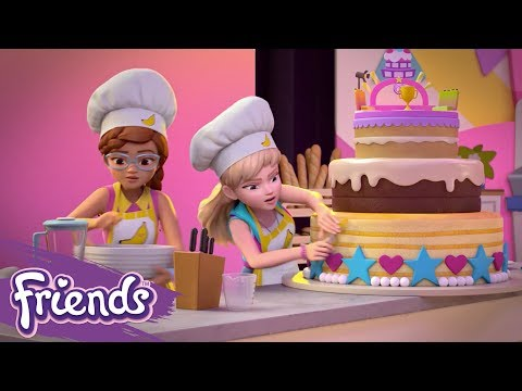 Friends: Girls On A Mission | LEGO® Shorts | Episode 2: Extreme Cake-Off