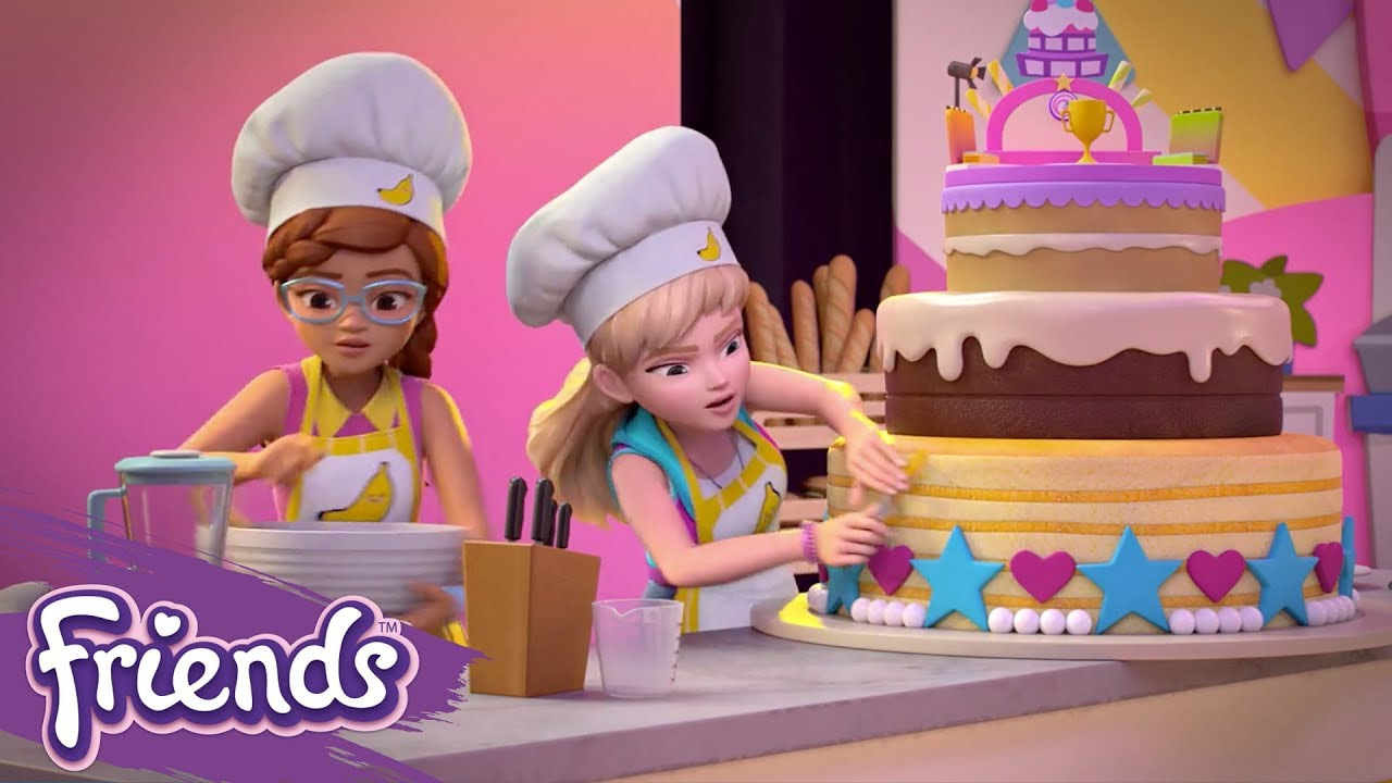 Download Friends: Girls on a Mission | LEGO® Shorts | Episode 2: Extreme Cake-Off