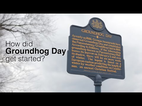 The history of Groundhog Day and Punxsutawney Phil