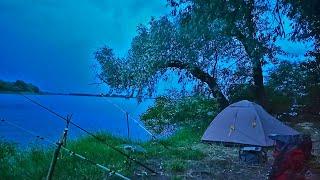 Первый выезд на СОМА рыбалка с ночёвкой