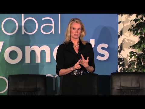 2015 Global Women's Forum - Part 5 features BBC World News America anchor Katty Kay