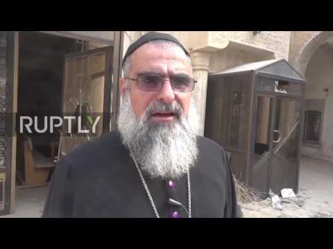 Iraq: Historic Assyrian church left in ruins after IS pushed out of Bartella
