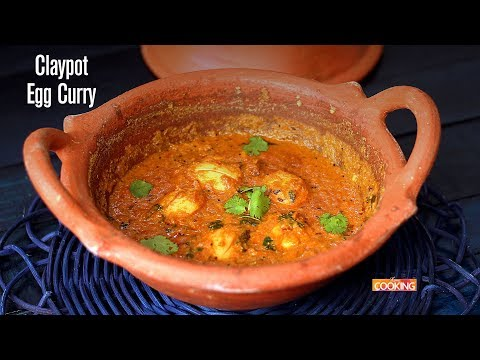 Claypot Egg Curry  Ventuno Home Cooking