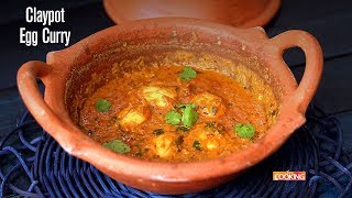 Claypot Egg Curry | Ventuno Home Cooking