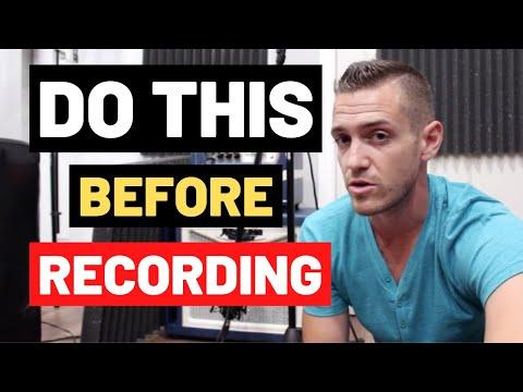 How To Prepare To Record A Song – RecordingRevolution.com
