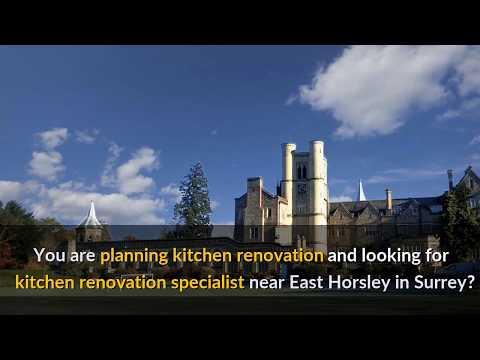 Kitchen renovation specialist near East Horsley in Surrey, UK (07525 617575)