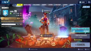 Fortnite New Bunny Moon Skin!!, Best Fit Scythe is Back!!
