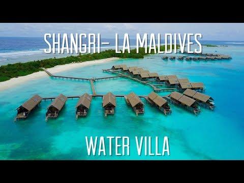 Shangri- La Villingili Resort Maldives Water Villa Room Tour