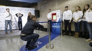 Tickets for Squats: Moscow metro gives free ride for sports