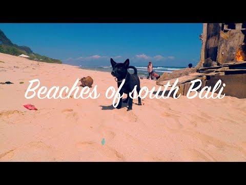 Beaches of south Bali (Nusa Dua, Uluwatu, Bukit)