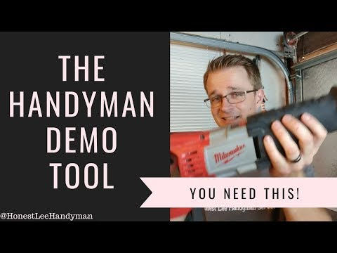 Favorite Handyman Demo Tool!