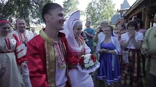 Чудесная  свадьба в Турочаке +Я готов ( Иван Колесник)