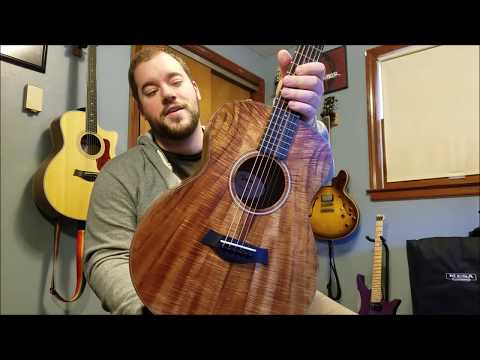 Taylor GS Mini Koa Acoustic Guitar Demo