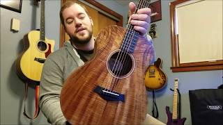 Taylor GS Mini Koa Acoustic Guitar Demo