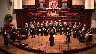 """""""The Virgin Mary Had a Baby Boy"""" arr. Mack Wilberg, Cantico Singers"""