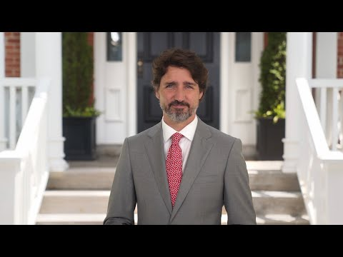 Prime Minister Trudeau Delivers A Message On Canada Day