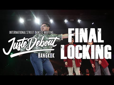 JOSE, KAYI Vs GERIN, WE MUI | FINAL LOCKING 2vs2 | JUSTE DEBOUT BANGKOK 2019