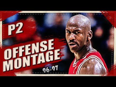 Michael Jordan SMOOTH Offense Highlights Montage 1996/1997 (Part 2) 1080p HD