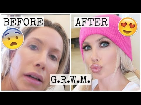how-i-do-my-makeup- -before-&-after- -grwm- -channon-rose