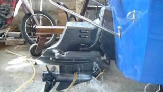 demarrage et essai 1 moteur v6 omc