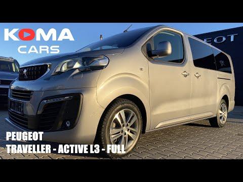 Peugeot Traveller L3 Active - Full detail prezentácia /interier /exterier / info / 8 sedadiel