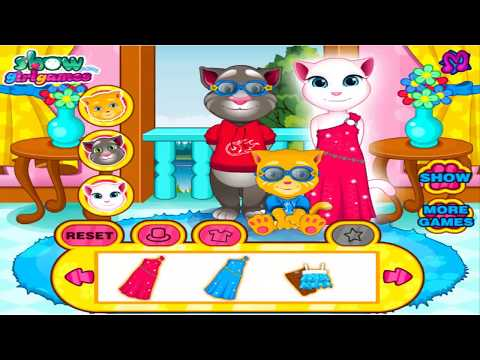 Tom Cat Care Baby ! Child Care Game ! Game For Kids ! Funny Game !