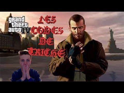 GTA 4 - TOUT LES CODES DE TRICHE