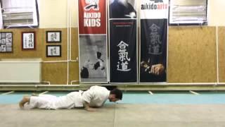 front fall /előre tompítás [TUTORIAL] Aikido empty hand basic technique