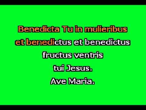 Ave Maria (F+) by F. Schubert Karaoke Accompaniment