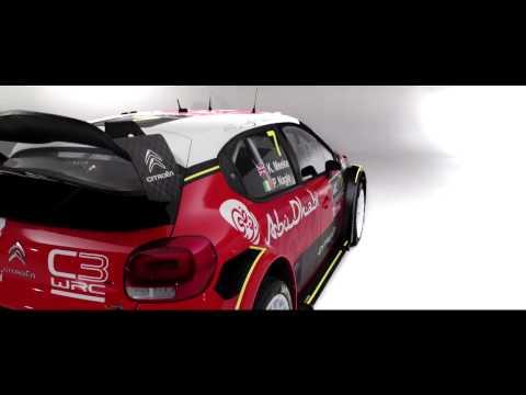 Citroën C3 WRC : Découvrez le nouveau challenger !